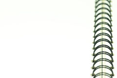 Nota de papel vazia com ligação Fotografia de Stock