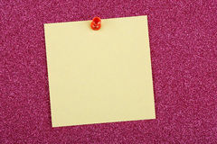 Nota de post-it Imagem de Stock Royalty Free