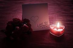 Nota del amor Imagen de archivo libre de regalías