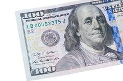 Nota del dollaro Immagini Stock