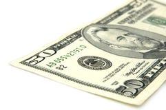 Nota del dollaro US Immagini Stock Libere da Diritti