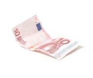 nota del euro 10 Imágenes de archivo libres de regalías