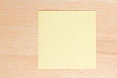 Nota del papel coloreado Foto de archivo libre de regalías