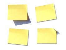 Nota del post-it Imagen de archivo