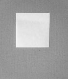 Nota del recordatorio sobre la cartulina Foto de archivo libre de regalías