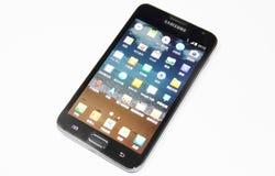 Nota della galassia di Samsung immagini stock