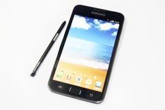 Nota della galassia di Samsung Fotografie Stock