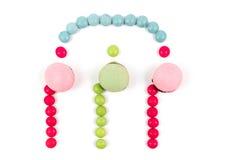 Nota di Candy Immagine Stock