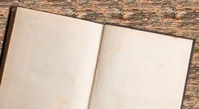 Nota di libro retro Fotografia Stock