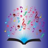 Nota di musica Immagini Stock Libere da Diritti