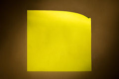 Nota di post-it fotografia stock