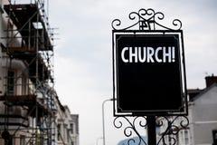 Nota di scrittura che mostra chiesa Foto di affari che montra il tempio Vint della sinagoga del santuario del santuario della mos Fotografia Stock Libera da Diritti