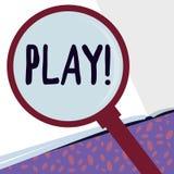 Nota di scrittura che mostra gioco Montrare della foto di affari si impegna nell'attività per godimento e la ricreazione diverten illustrazione vettoriale