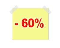 Nota do anúncio Imagens de Stock