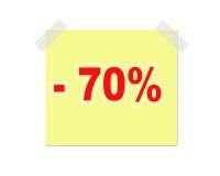 Nota do anúncio Imagem de Stock