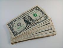 Nota dos dólares americanos Foto de Stock