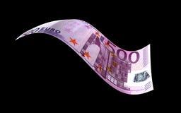 Nota euro Imagen de archivo libre de regalías