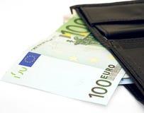 Nota euro Foto de archivo libre de regalías