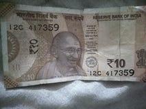 Nota indiana fotografia de stock royalty free