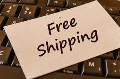 Nota livre do texto do transporte Fotos de Stock Royalty Free