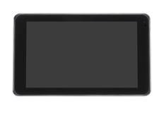 Nota met het grijze lege scherm Stock Afbeelding