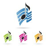 Nota musical Imagenes de archivo