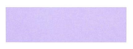 Nota pegajosa retangular violeta lisa Fotos de Stock Royalty Free