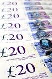 £20 nota's Stock Afbeeldingen