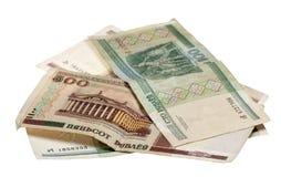 Nota's van de Republiek Belorus op een witte achtergrond Royalty-vrije Stock Afbeelding