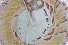 Nota tailandesa do banho Foto de Stock