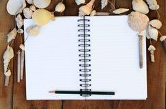 Notaboek Stock Fotografie