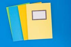 Notaboeken Stock Fotografie