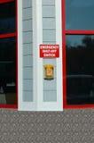 Notabsperrvorrichtungs-Schalter Lizenzfreies Stockfoto