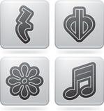 Notación musical Fotos de archivo libres de regalías