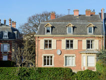Notary house office in France Luxury real estate stock image