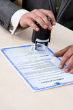 Notary Seal Stock Images