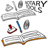 Notary Service Tools Stock Photos