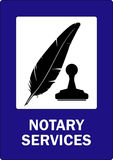 Notary services Stock Photography