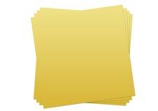 Notas Imagens de Stock Royalty Free