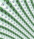 Notas cem euro Imagem de Stock Royalty Free