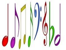 Notas coloridas libre illustration