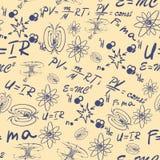 Notas da leitura da física Foto de Stock