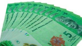 Notas da moeda fotografia de stock