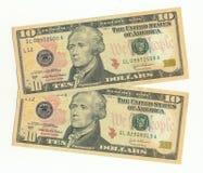 Notas de banco Imagem de Stock