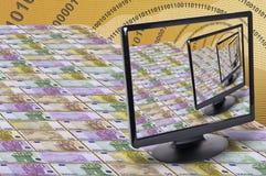 Notas de banco Fotografia de Stock