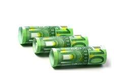 Notas de banco Foto de Stock Royalty Free