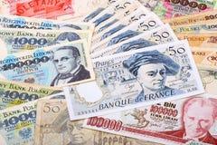 Notas de banco Imagem de Stock Royalty Free