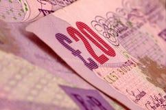 Notas de banco Foto de Stock
