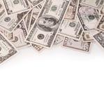 Notas de banco americanas Imagem de Stock