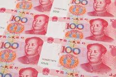 Notas de banco de RMB Imagem de Stock